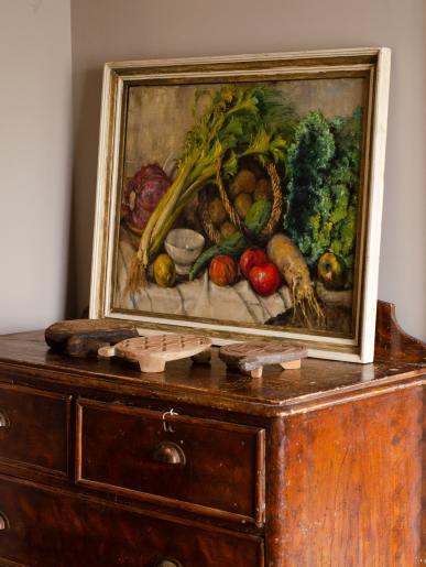 Bright Veg Still Life Painting