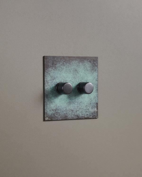 Verdigris Bronze Dimmer Switches