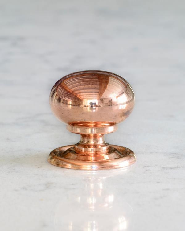 Burnished Copper Classic Knob