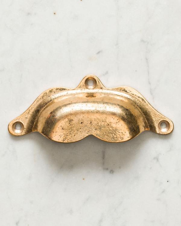 Polished Bronze Boho Handle