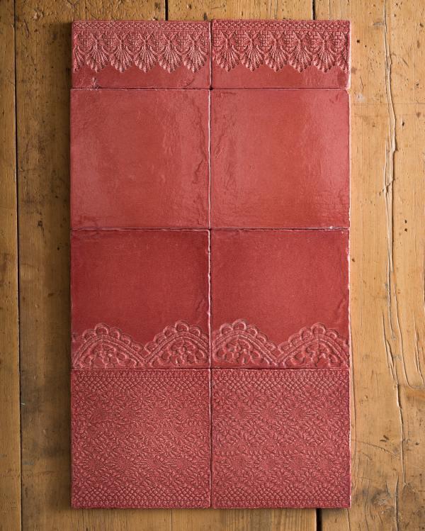 Rose Lace Market Tiles