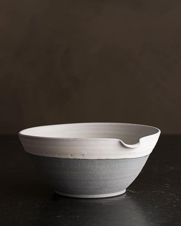 Medium Slate Blue Pouring Bowl