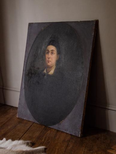Sombre Lady Portrait