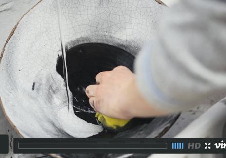 How We Make Crackle Pendant Lights